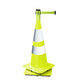 Visiontron Retracta-Cone Retractable Belt Barrier Cone Topper - 15 Ft. Belt