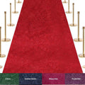 VIP Red Carpet Stanchion Kit - 4 Ft Wide / 25 Ft Long Carpet