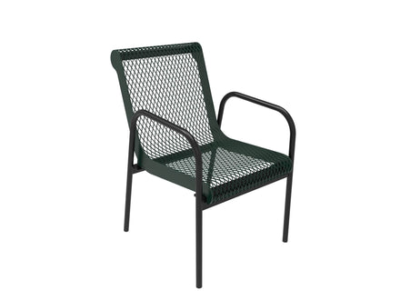 Stacking Chair - Diamond Pattern
