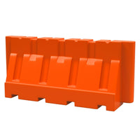 Orange Water/Sand Fillable Jersey Barrier for sale