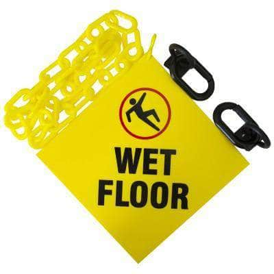 """WET FLOOR"" Sign Kit"