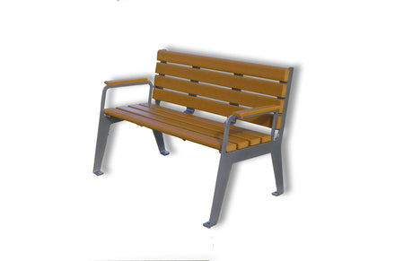 Eight Slats Park Bench - 2'' x 4'' slats, 4ft and 6ft