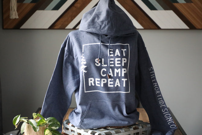 EAT SLEEP CAMP REPEAT COLLECTION