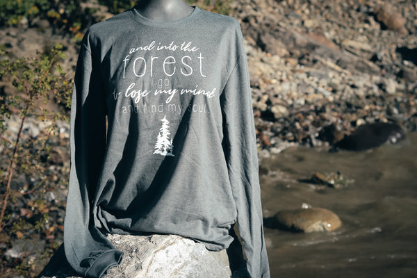 INTO THE FOREST LONG SLEEVE