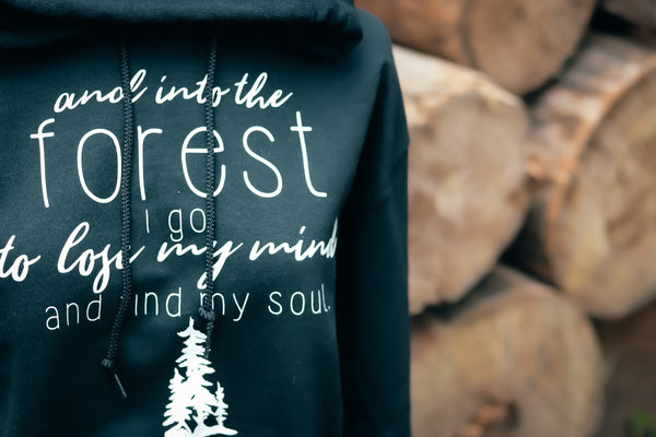 INTO THE FOREST HOODIE