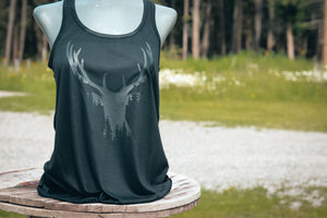 BLACK ON BLACK DEER TANK