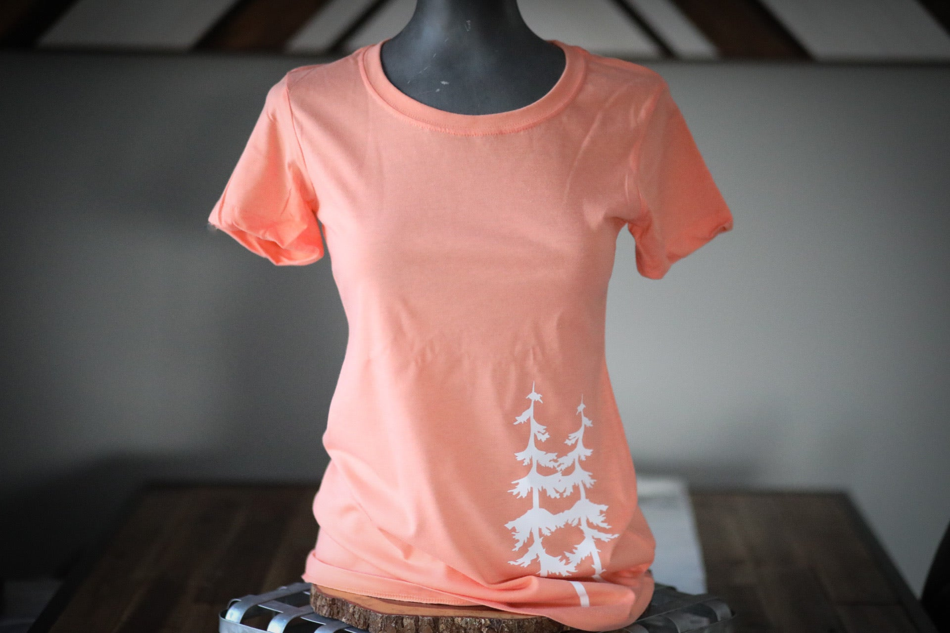 FEELING PEACHY LADIES TEE
