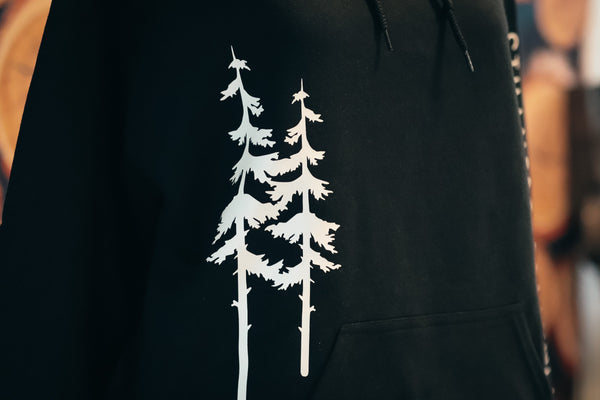 SIMPLE TWO TREE HOODIE