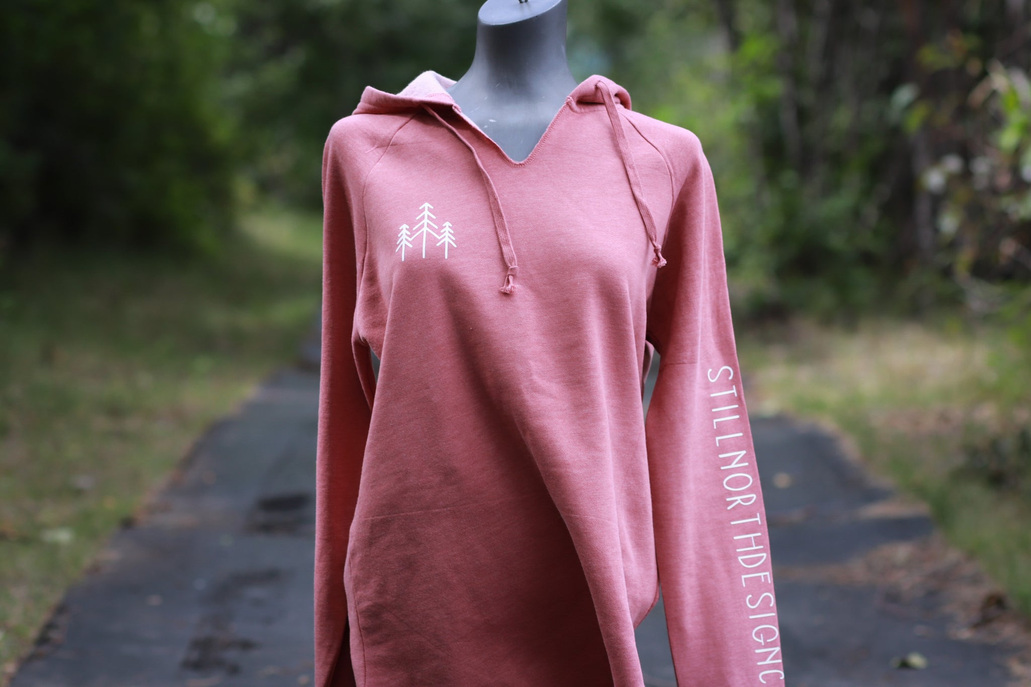 CALIFORNIA COAST V NECK HOODIE
