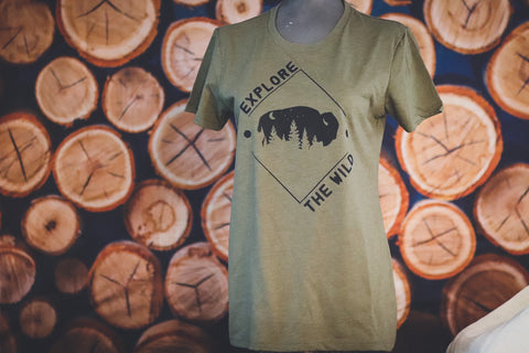 EXPLORE THE WILD LADIES TEE