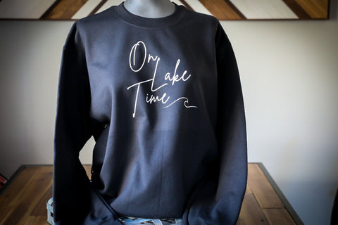 ON LAKE TIME CREW - UNISEX