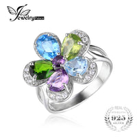 Palace Flower 4ct Multi-stone Cocktail Ring