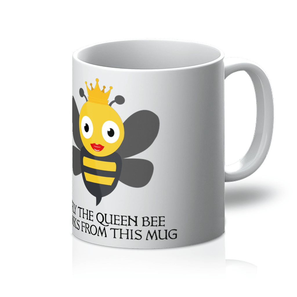 Bee Mug With Queen Design
