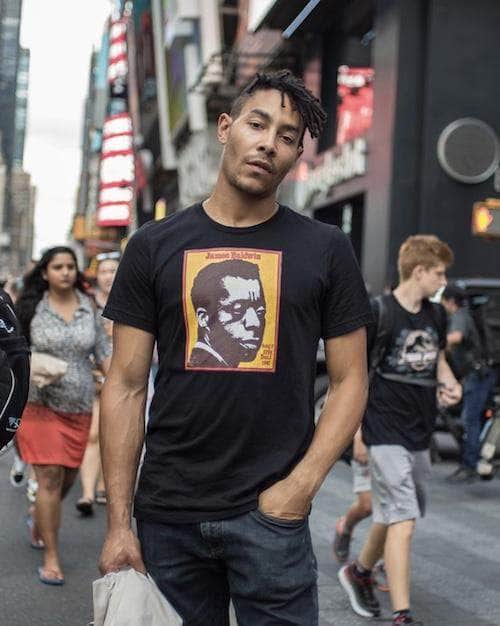 James Baldwin T-Shirt | Em and Ahr