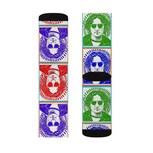 John Lennon socks | Em and Ahr