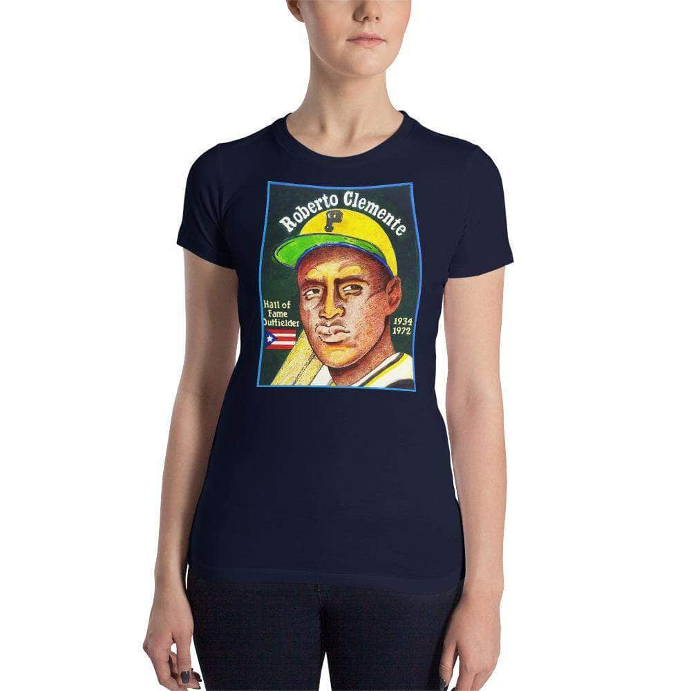 Roberto Clemente Women's T-Shirt | Em and Ahr