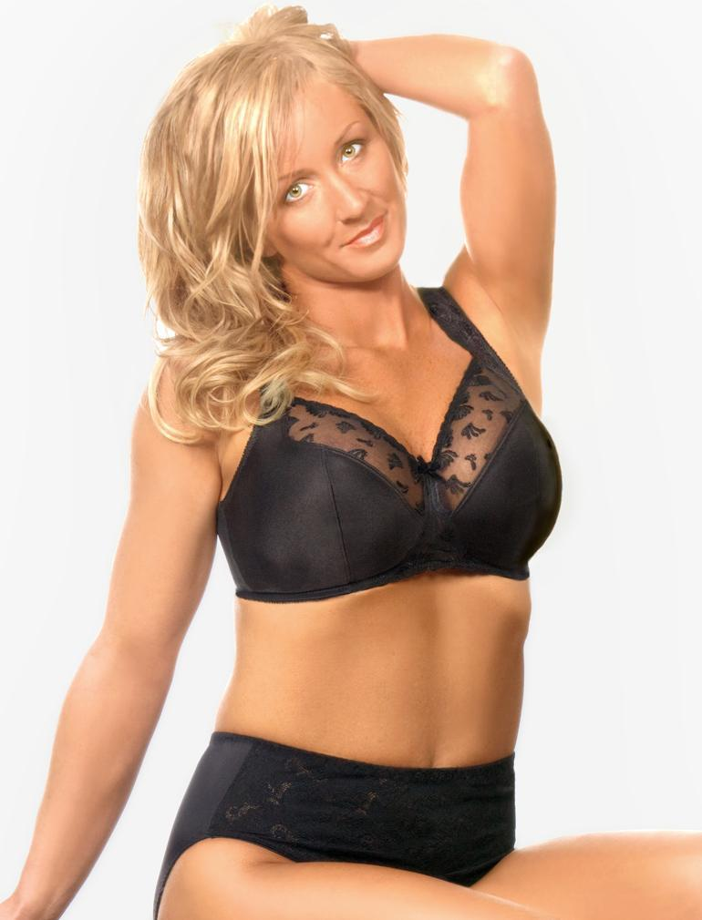 Aviana Embroidered Soft Cup Minimizer 2357