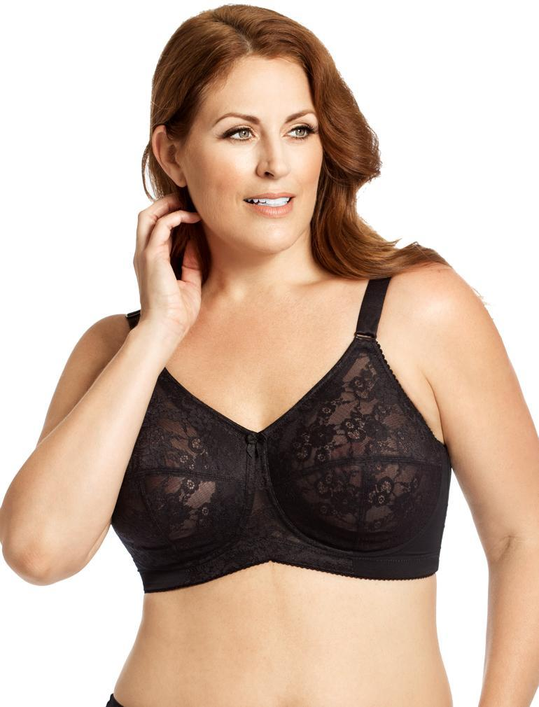 379a41eb3d7 Elila Lace Soft Cup Bra in Black