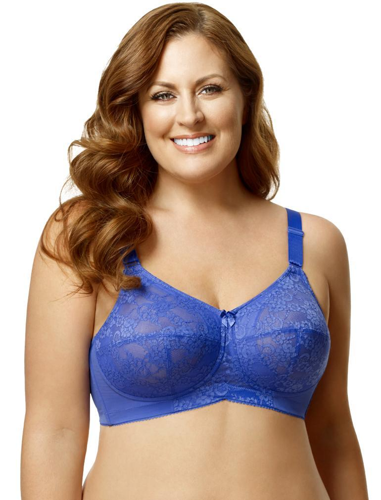 2e618b841e9da Elila Lace Soft Cup Bra in Blue