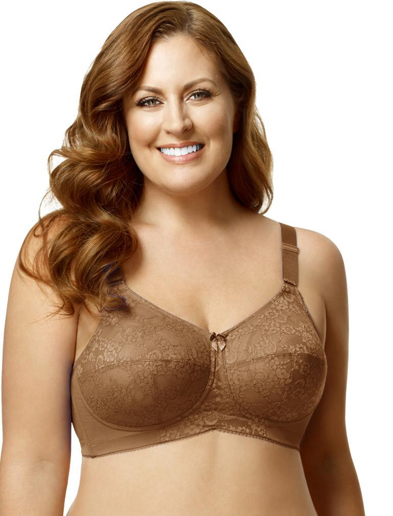 afb7b4d64d3 Elila Lace Soft Cup Bra in Mocha