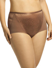 Elila Leopard Lace & Microfiber Brief 3201