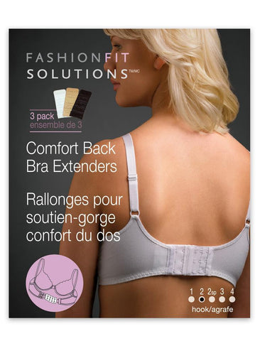 Fashion Essentials Bra Back Extenders - 2 Hook FE50521