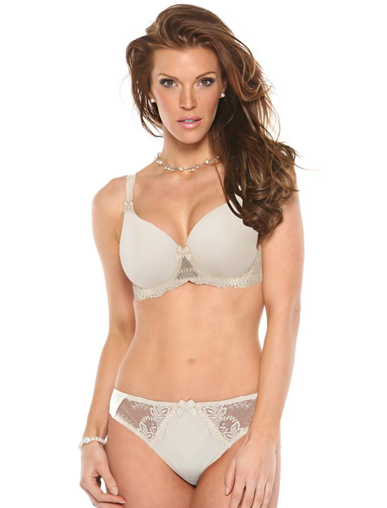Elizabeth Smooth Lace Underwire Bra B1032