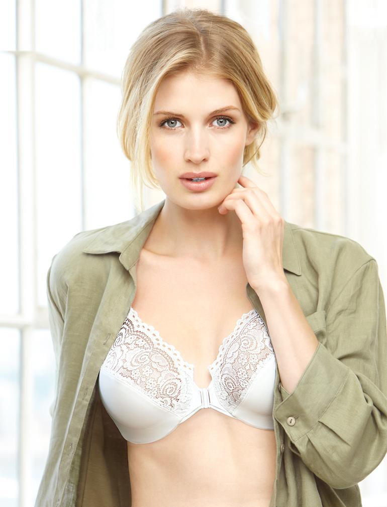 Glamorise Front Close Wire Bra 1245