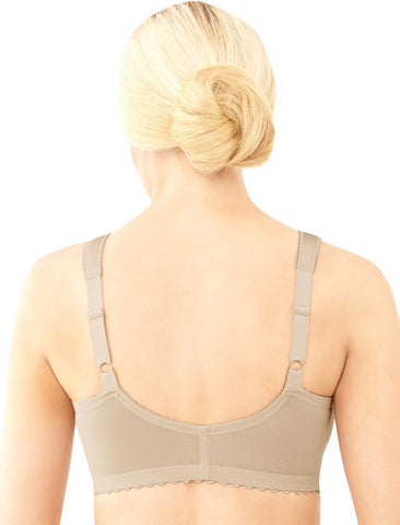 Glamorise MagicLift Front Hook Soft Cup Bra 1200