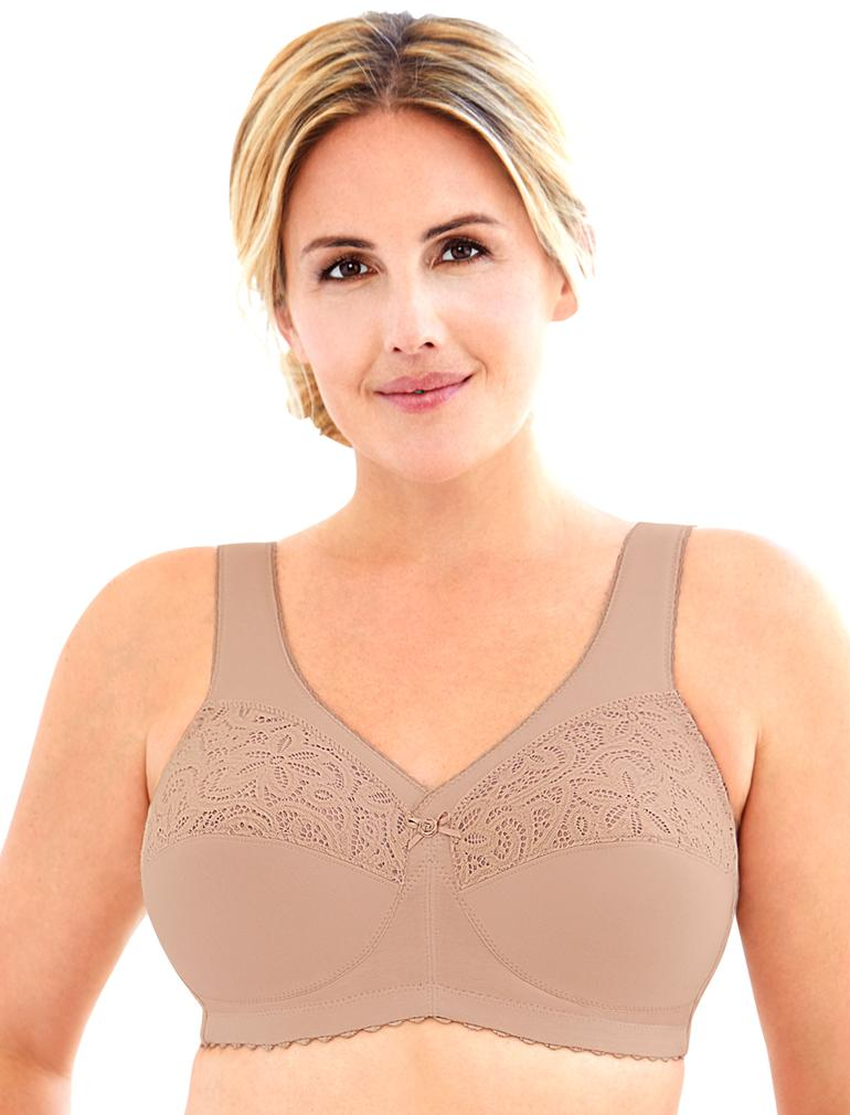 MagicLift Cotton Full Figure Support Soft Cup Bra 1001