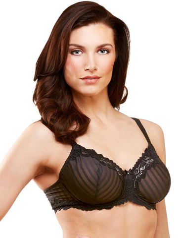 Whimsy Barbados Mesh Lace Demi Bra 15211