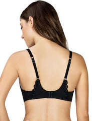 Paris Unlined Wire Demi Bra A1612