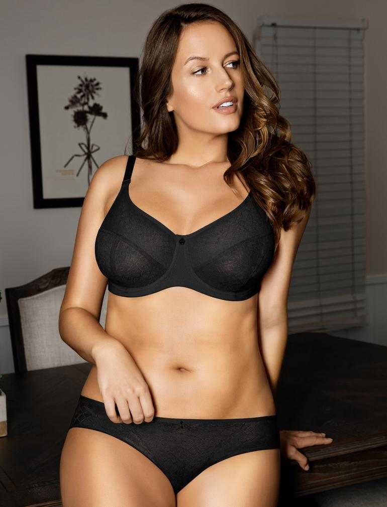 09fb5918b2beb Parfait Enora Minimizer Bra in Black