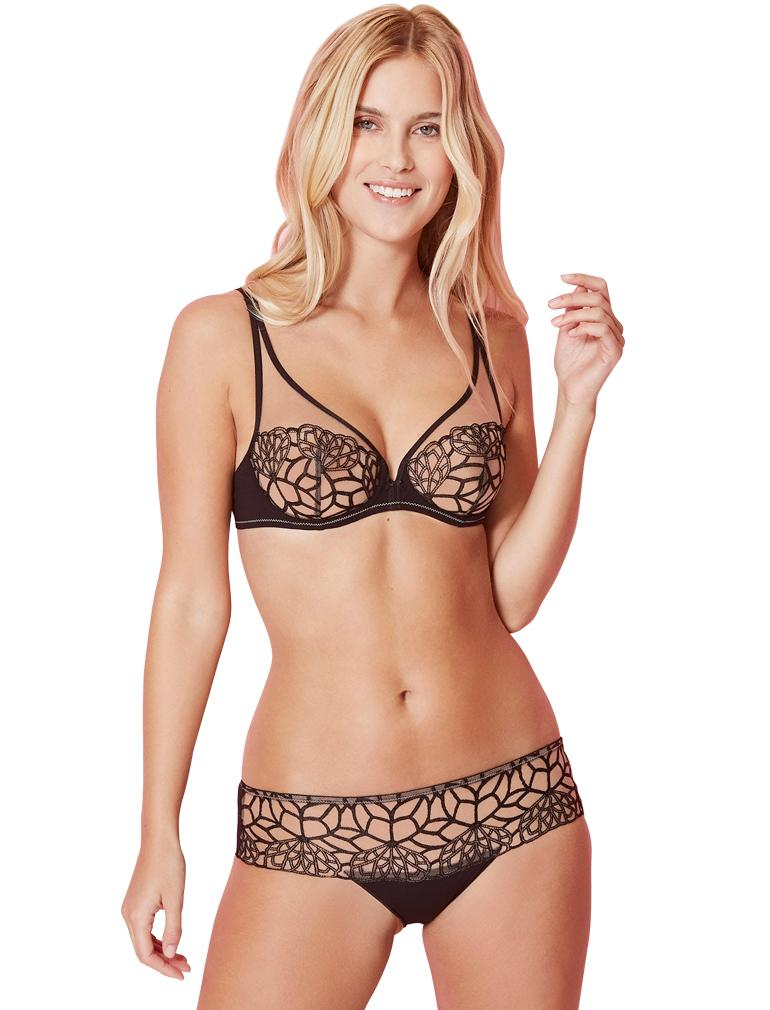Java Sheer Plunge Bra 12G319