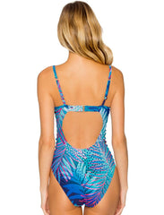 Borderline One Piece Swimsuit 115