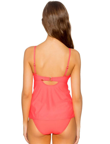Iconic Shirred Tankini (E-H Cup) 76