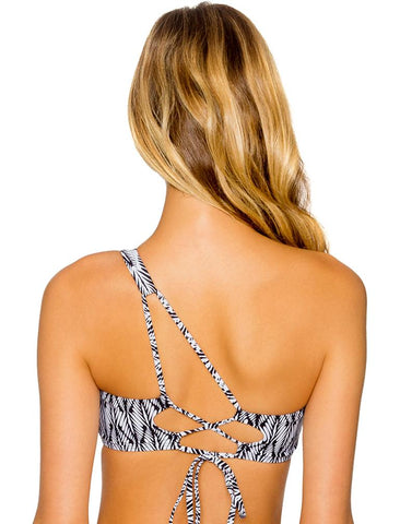 Cleo One Shoulder Bikini Top 67T