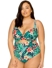 Sasha Crossover One Piece Swimsuit 685
