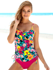 Iconic Shirred Tankini (D-DD Cup) 76