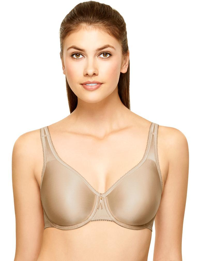f3914513f84e9 Wacoal Basic Beauty Full Figure Seamless Underwire Bra 855192