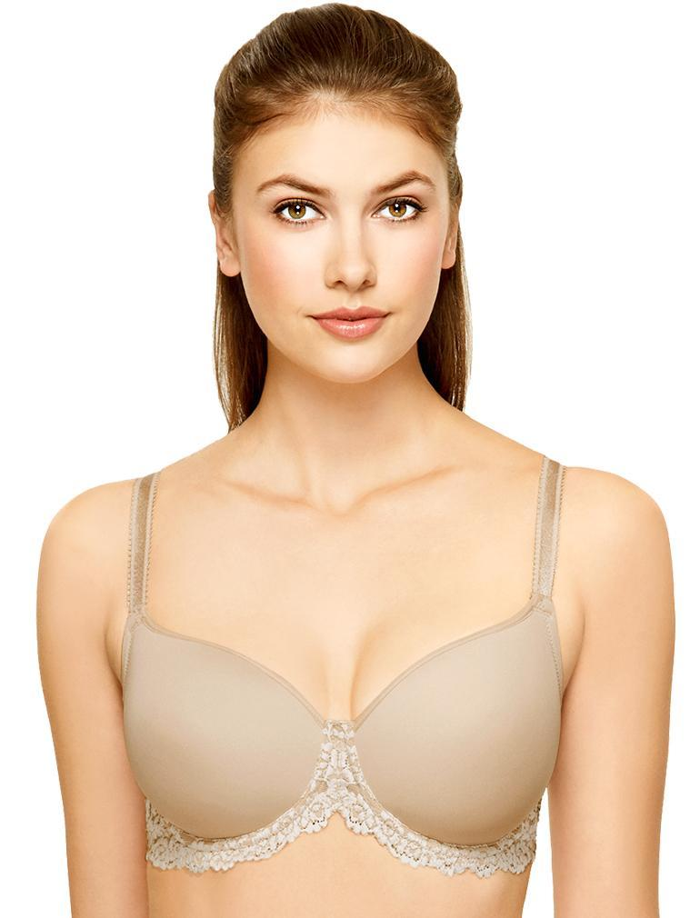 8d7b47c35c Wacoal Embrace Lace Contour Wire Molded Bra in Natural