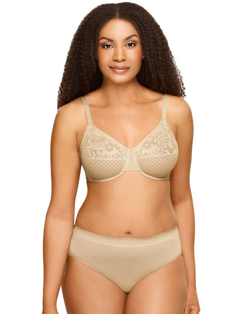 2502c15bd1 Wacoal Visual Effects Underwire Minimizer Bra in Sand