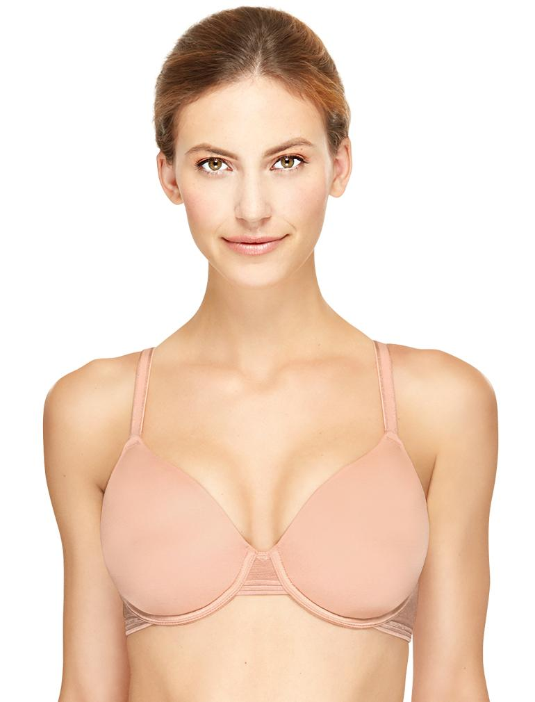 2f8b8860e884e Wacoal Net Effect Contour Underwire Bra in Rose Dust