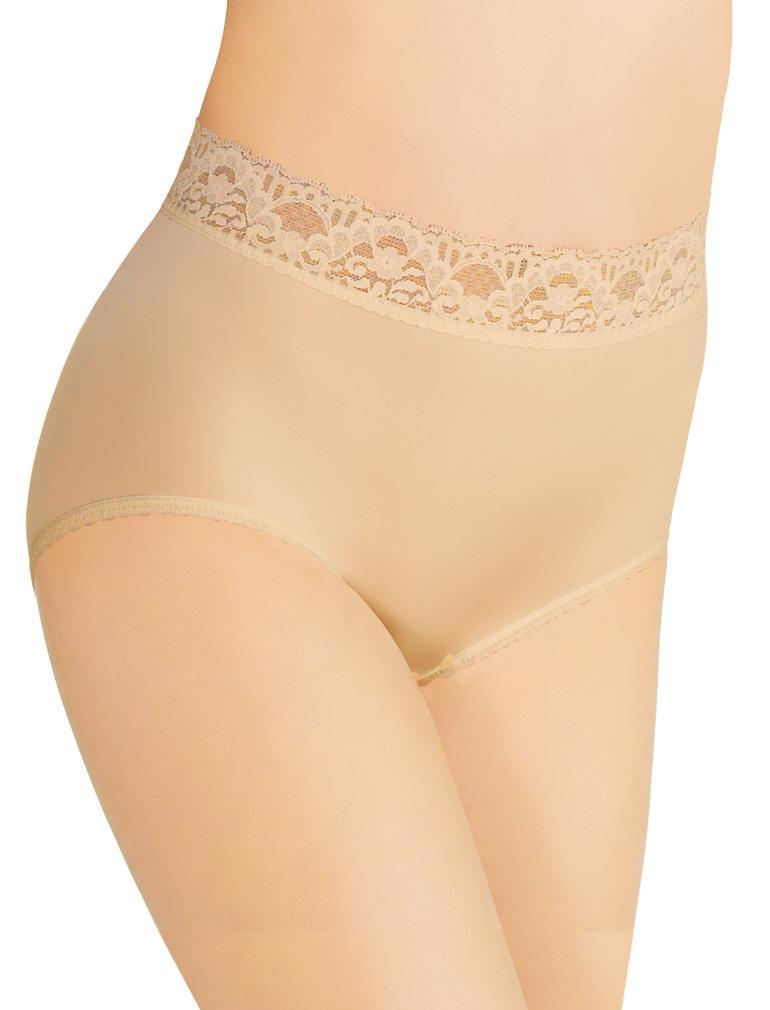 Wacoal BodySuede Lace Waist Brief 89366