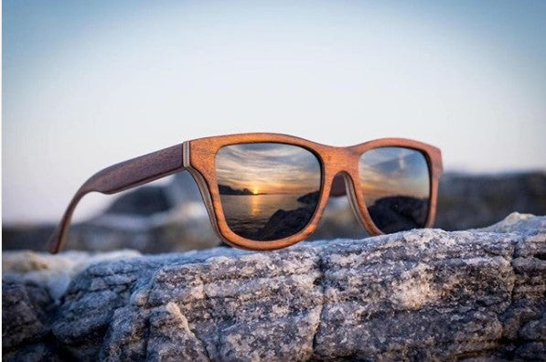 bamboo sunglasses - Grownd Zero