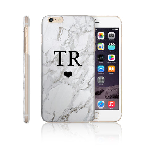 Personalised Custom Initial Monogram Phone Case Marble - Case&Co.