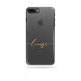 Personalised Custom Name Initial Monogram Phone Case Yellow - Case&Co.