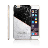Personalised Name Printed Phone Case Marble - Case&Co.