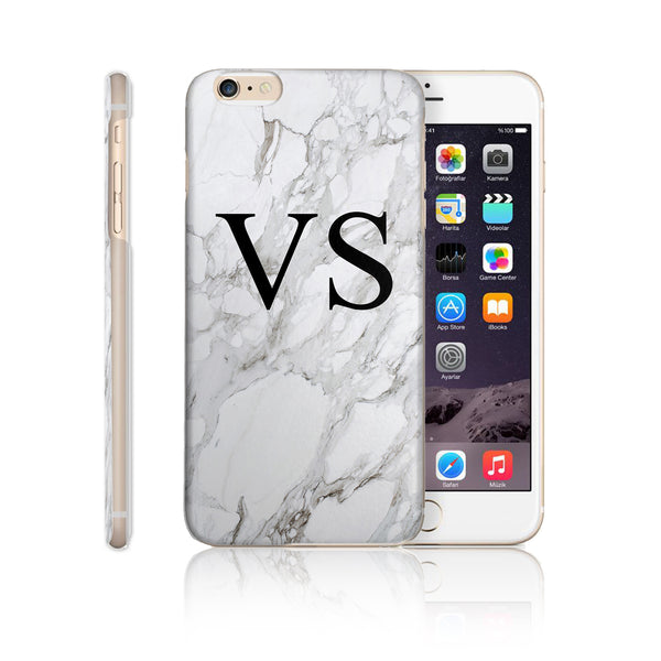Personalised Initial Monogram Printed Phone Case Marble - Case&Co.