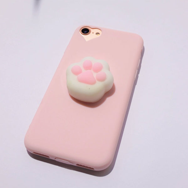 3D iPhone Case - Squishy Paw - Case&Co.